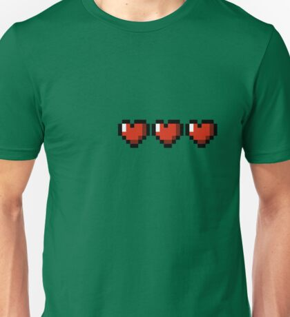 3 hearts ! Unisex T-Shirt