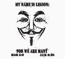 MY NAME IS LEGION Kids Clothes