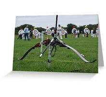 Sharp Shooter 2 Greeting Card