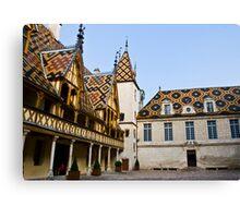 Hotel Dieu - Beaune [2] Canvas Print