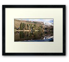 Milton Basin Panorama Framed Print