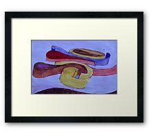 A Swirl of Colour Framed Print