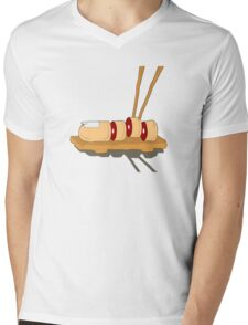 Sushi Mens V-Neck T-Shirt