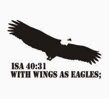WITH WINGS AS EAGLES Kids Clothes