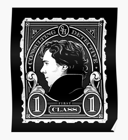 First Class Consulting Detective  Poster