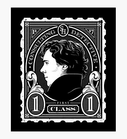 First Class Consulting Detective  Photographic Print