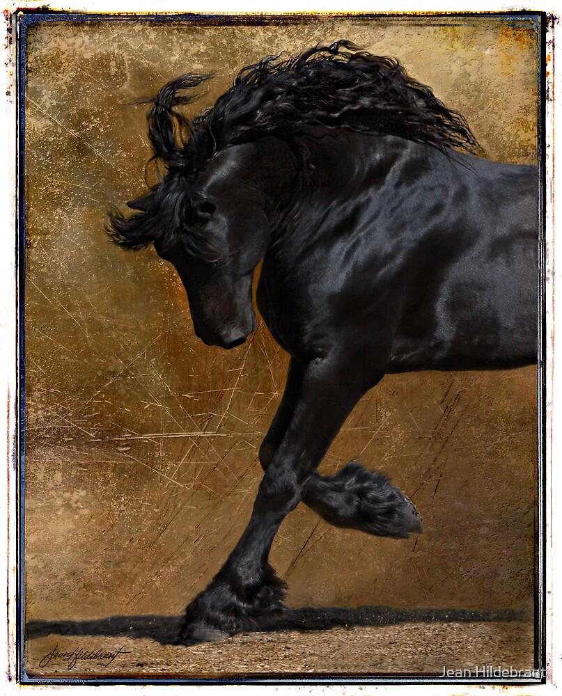 A Regal Bow by Jean Hildebrant