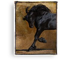 A Regal Bow Canvas Print
