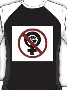Anti-Feminist Logo-a-go-go T-Shirt