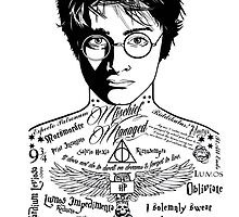 Harry Tattoo Potter by Daveseedhouse