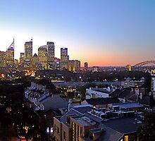 Sydney Skyline at dusk! by Jonathan Jones