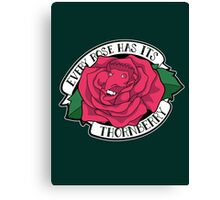 Every Rose Has Its Thornberry Canvas Print