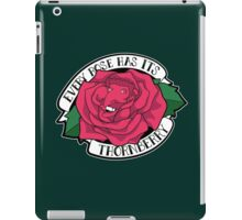 Every Rose Has Its Thornberry iPad Case/Skin