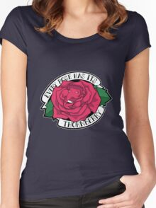 Every Rose Has Its Thornberry Women's Fitted Scoop T-Shirt