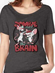 Zombie and the Brain Women's Relaxed Fit T-Shirt