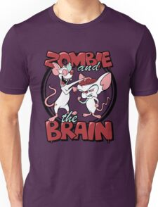 Zombie and the Brain Unisex T-Shirt