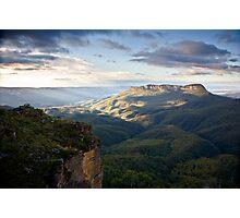 Mount Solitary. Photographic Print