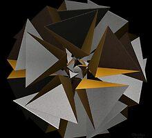 'TetraStar (gold/silver)' by Scott Bricker