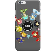 SAO cast iPhone Case/Skin