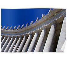 Catholic Columns Poster