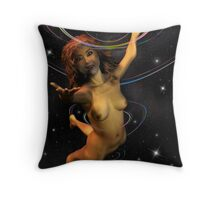Space Time 167 Throw Pillow