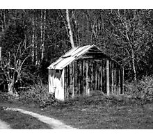 Old Shed Photographic Print