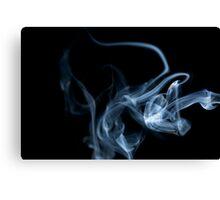 Smokey Abstract Canvas Print