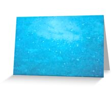 Abstract Blue Mosaic Background Greeting Card