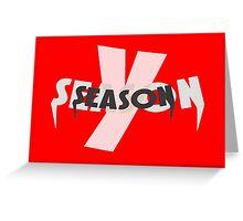 Y Season Greeting Card