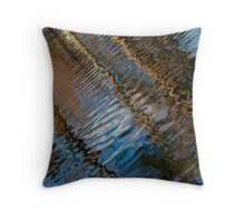 Into Chaos Blue 2 Throw Pillow