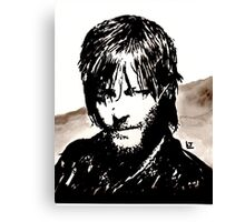 Walking Dead Daryl Dixon Canvas Print