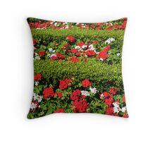 Sunny Garden Throw Pillow