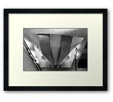 METROPOLIS — Hommage a Fritz Lang II. Framed Print