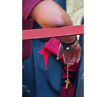 Penitent with rosary Photographic Print