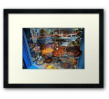 Monmartre goodies Framed Print