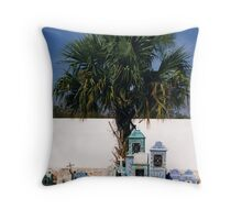 Cemetery, Mexico Throw Pillow