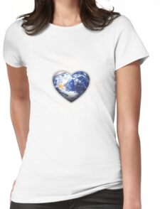 good earth Womens Fitted T-Shirt