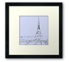 tour eiffel for paris lover :) Framed Print