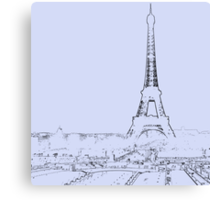 tour eiffel for paris lover :) Canvas Print