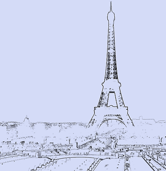 tour eiffel for paris lover :) by faithie