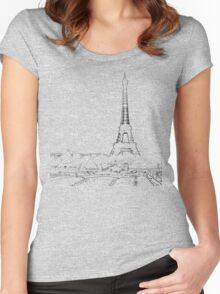 tour eiffel for paris lover :) Women's Fitted Scoop T-Shirt