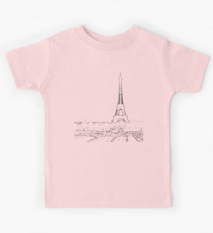 tour eiffel for paris lover :) Kids Tee