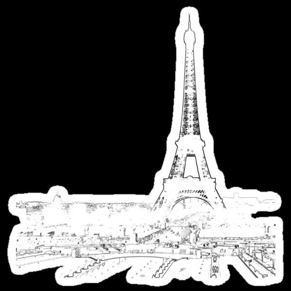 tour eiffel for paris lover :) by faithie