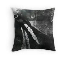 It's easier to leave than to be left behind Throw Pillow