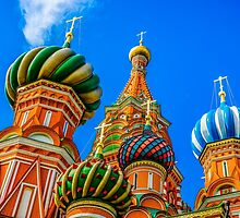 St. Basil's cathedral by luckypixel