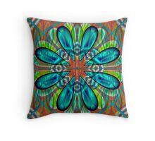 Flowerette Glow Throw Pillow