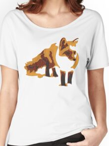 Fox Confessor. Women's Relaxed Fit T-Shirt