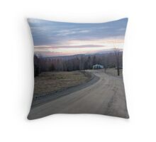Country Mornings #2 Throw Pillow