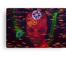 Faces 13 Canvas Print