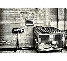 Bail Out Photographic Print